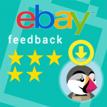 import eBay Feedback on Prestashop