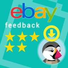 import eBay Feedback on Prestashop