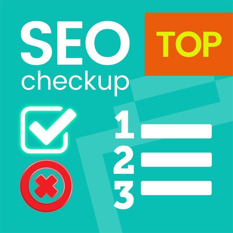 Prestashop SEO check-up top