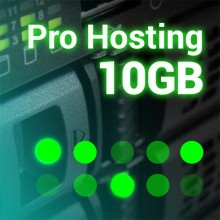 Prestashop hosting server Cloud 10 GB