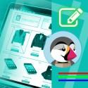 personalizzazione grafica template Prestashop