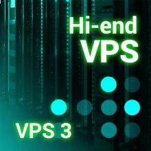 Prestashop server VPS3 2 Core - 8Gb