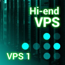 Prestashop server VPS1 1 Core - 2Gb