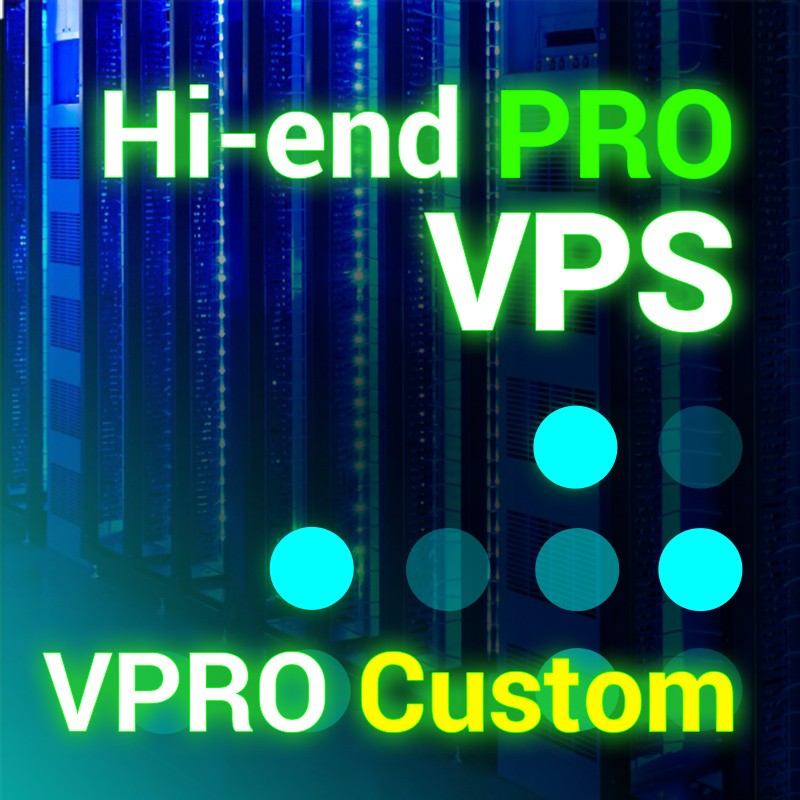 Prestashop server VPRO Custom