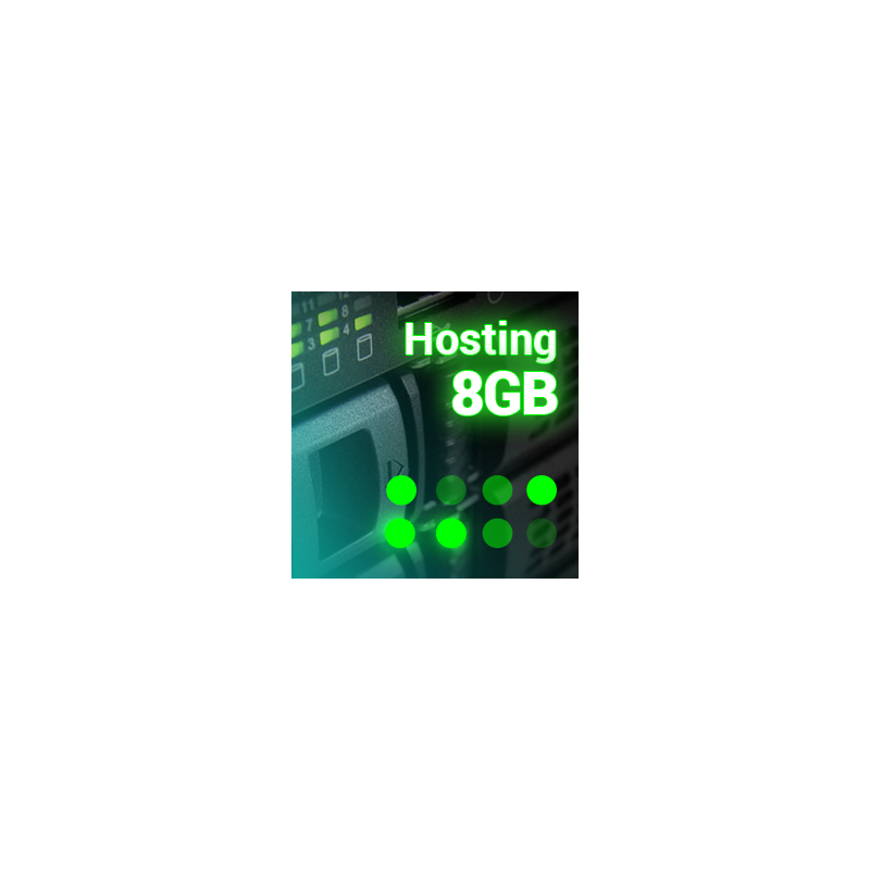 Prestashop Hosting server pre-installed 8GB