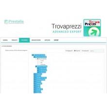 Modulo export comparatore di prezzo Trovaprezzi prestashop 1.6