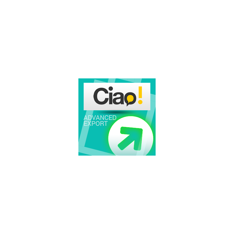 CIAO.it price comparator Export Module