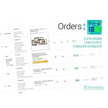 Advanced Order List - Lista Ordini Avanzata - PRESTASHOP 1.6