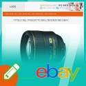 Template inserzione eBay Flat Blue
