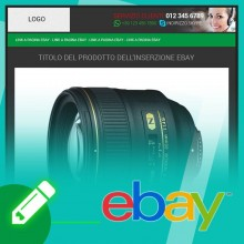 Template inserzione eBay Flat Green