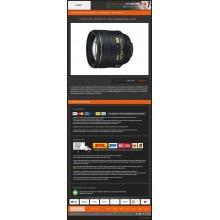 eBay auction template Flat Orange