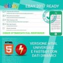Template inserzione eBay Flat Red
