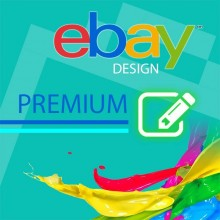 Custom template PREMIUM design eBay 2017 auction