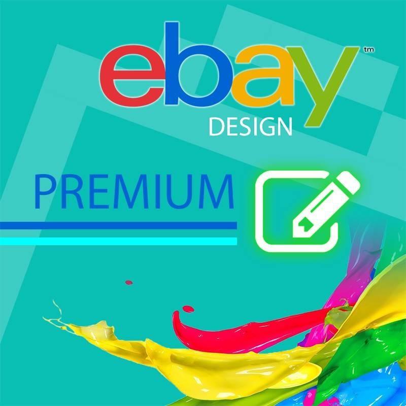 Custom template PREMIUM design eBay 2017 auction > eBay template ...
