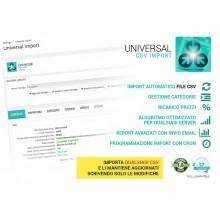 Modulo Import CSV avanzato - prestashop 1.6